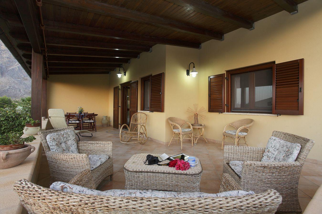 ferienhaus erice san vito sicilia italia solaris. Black Bedroom Furniture Sets. Home Design Ideas