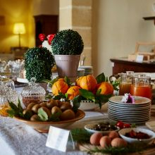 Winery resort Marsala_breakfast