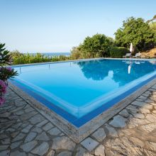 Villa Cefalù pool