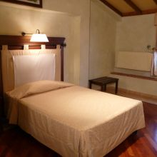 Luxury winery resort Castelbuono_single room