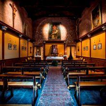 Luxury winery resort Castelbuono_chapel