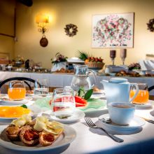 Luxury winery resort Castelbuono_breakfast