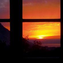Country B&B Scopello-San Vito_sunset from B&B