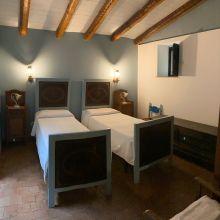 B&B Etna trekking_country house twin bedroom