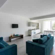 Residence Eraclea Minoa_deluxe apartment 6 people_living and kitchen