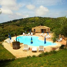 Vacation house Cefalù-Madonie_pool area