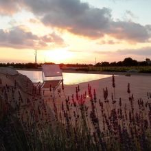 Winery resort Marsala_sunset