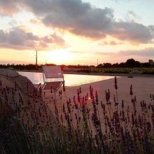 Winery resort Marsala_sunset