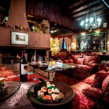 Luxury winery resort Castelbuono_living