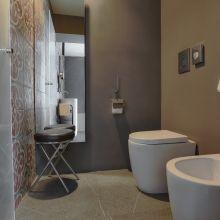 Charme B&B Palermo_noir deluxe room bath