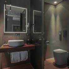Charme B&B Palermo_noir junior suite bath