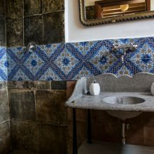 Agriturismo Siracusa_room vecchio Pamento bathroom