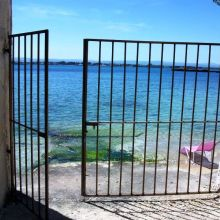 Apartment Siracusa mare_passage to the sea