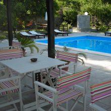 Rural B&B Sicily east coast - pool area