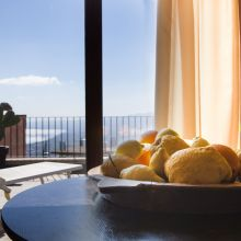 Rooms and apartments Taormina Castelmola_view from room