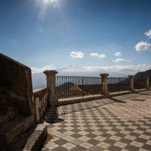 Rooms and apartments Taormina Castelmola_terrace