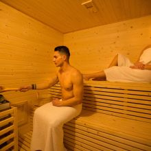 Rooms and apartments Taormina Castelmola_sauna
