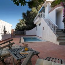 Seaview Villa Taormina Naxos_pool area