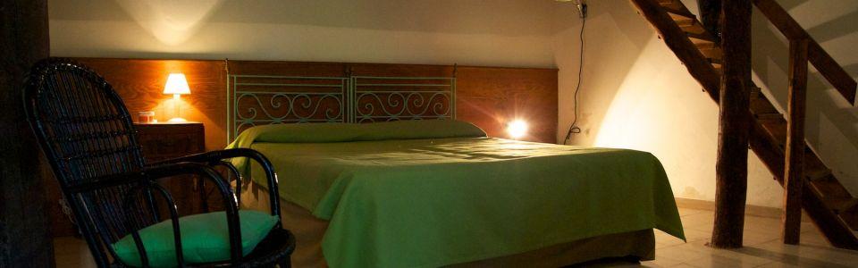 """Rural B&B Sicily east coast - Room """"Verde"""""""
