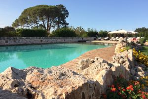 Country stay Ostuni_pool area