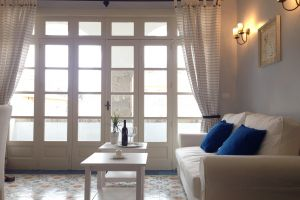 Apartment Taormina Mitte_living